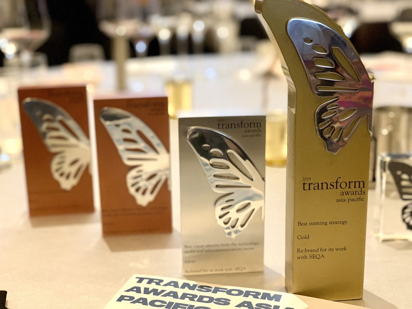 Rebrand Awards at Transform Awards 2019