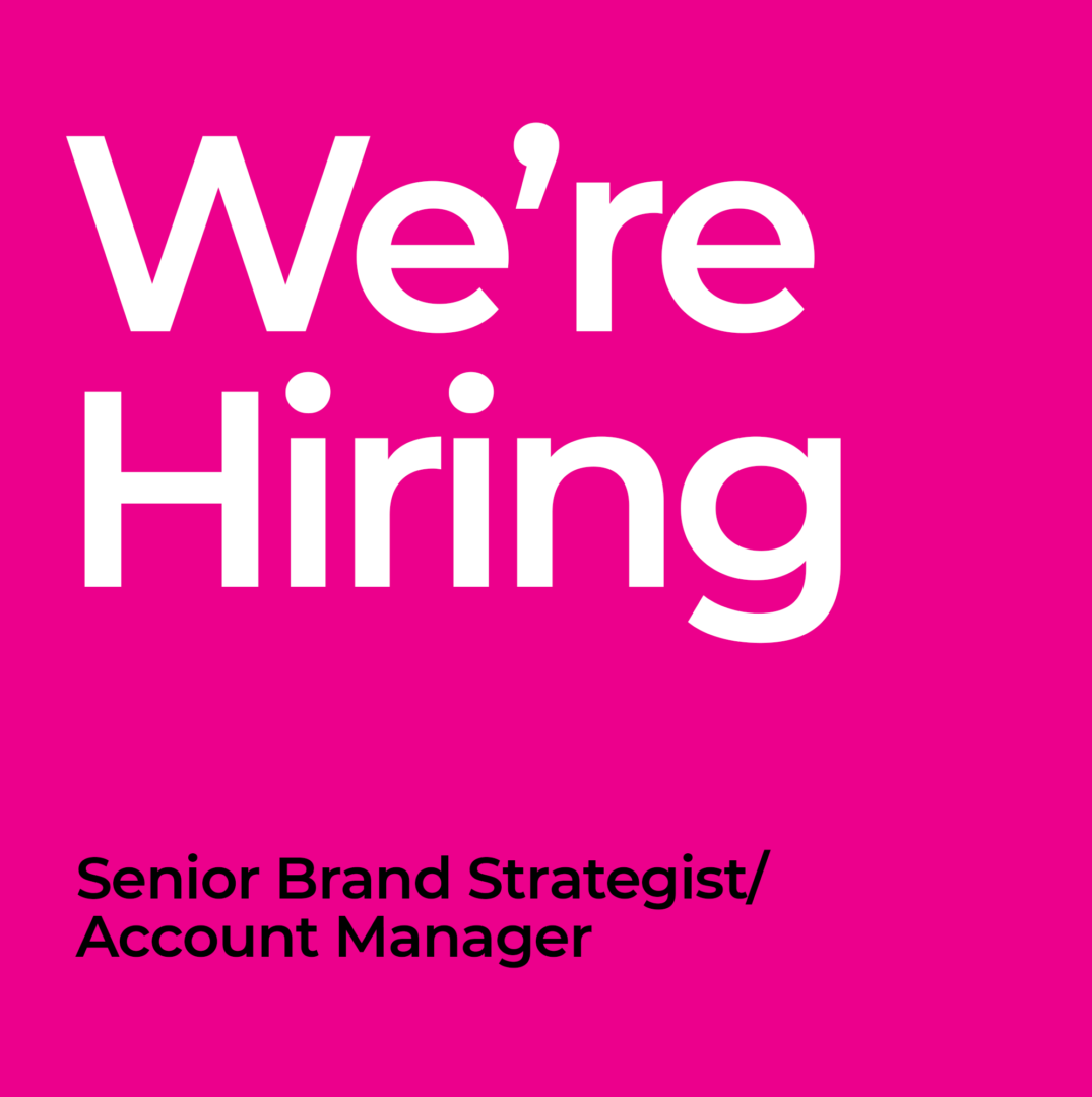 Rebrand is hiring a Brand Strategist for Auckland