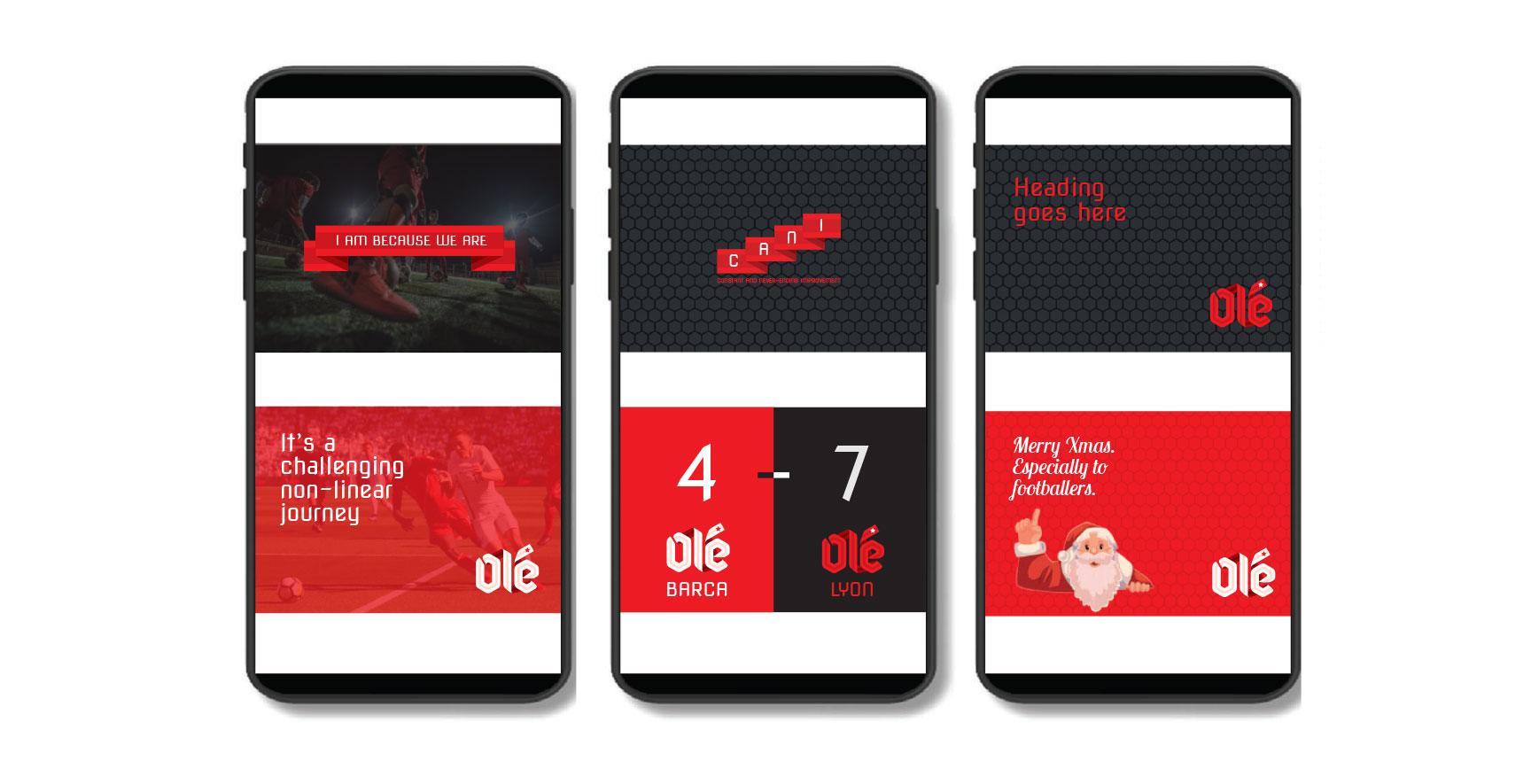 Ole FA_App Design