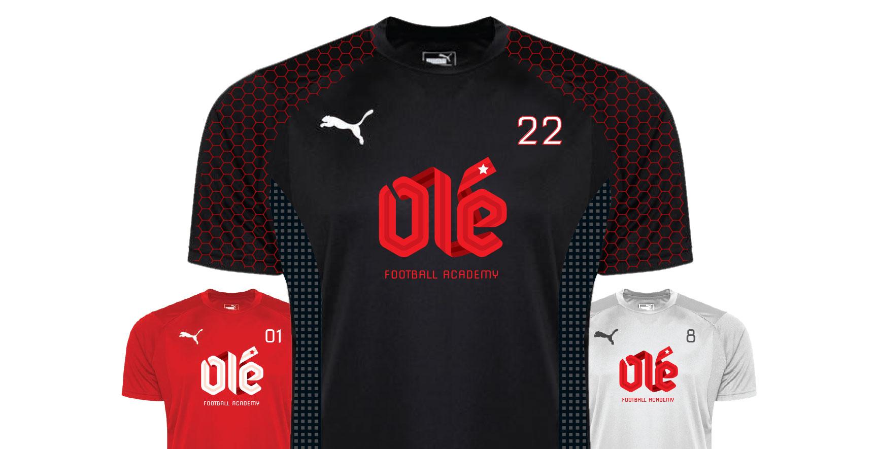 Ole FA_Player Uniforms